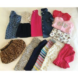 Girls 3T Clothes Gap Old Navy Dresses Pants Hoodie